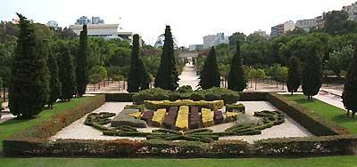 Turia river bed gardens jardines de turia valencia spain - Jardin del turia valencia ...